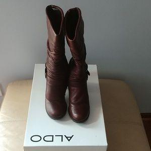 Aldo mid-calf heeled boots
